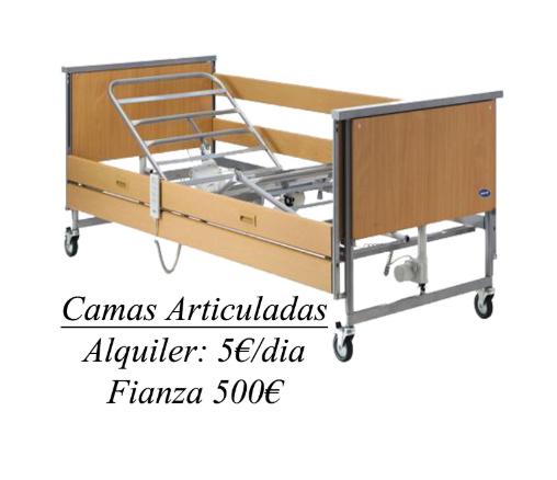 ALQUILAR CAMAS ARTICULADAS EN ALMERÍA
